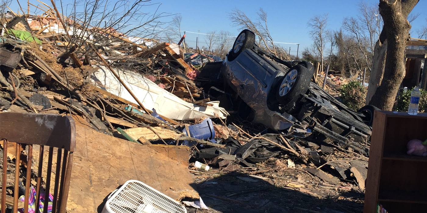 Impact Of Tornado Threatens More Than Physical Damage