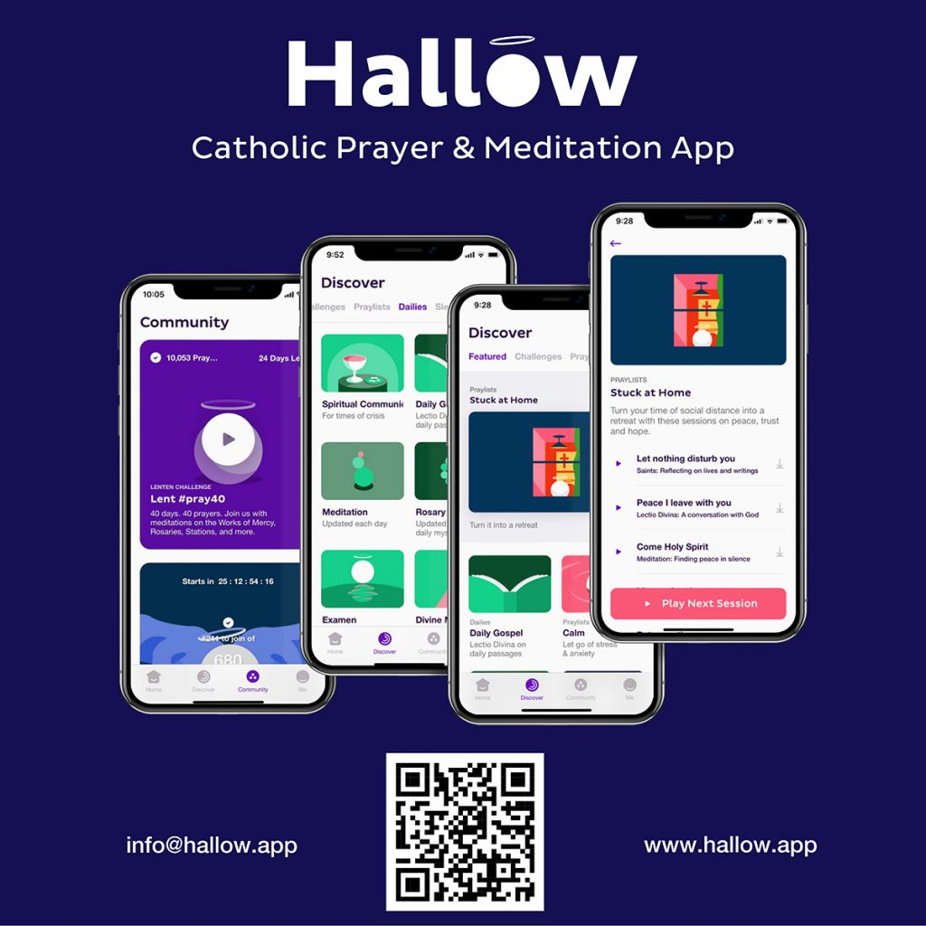 Update: Successful Catholic app adds features to help ...