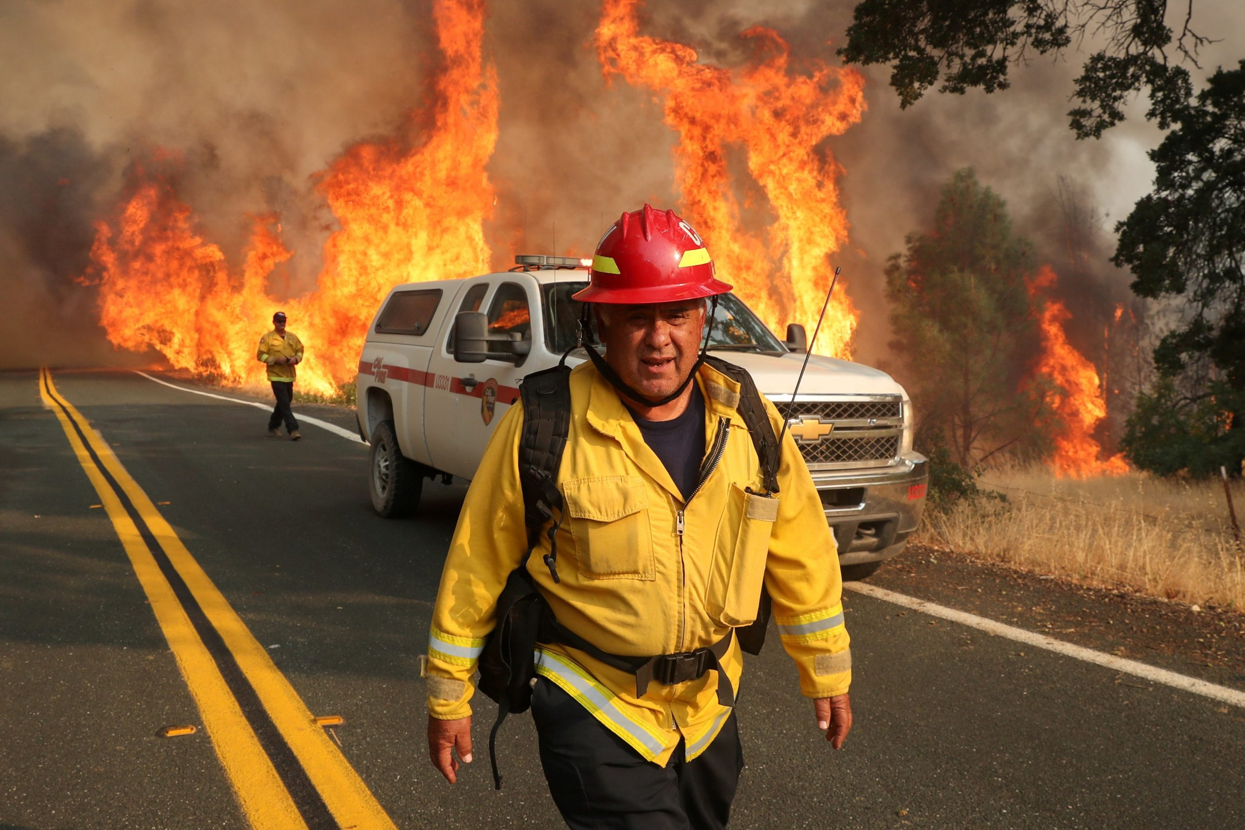 Bishop Cant Californians on edge as historic wildfires
