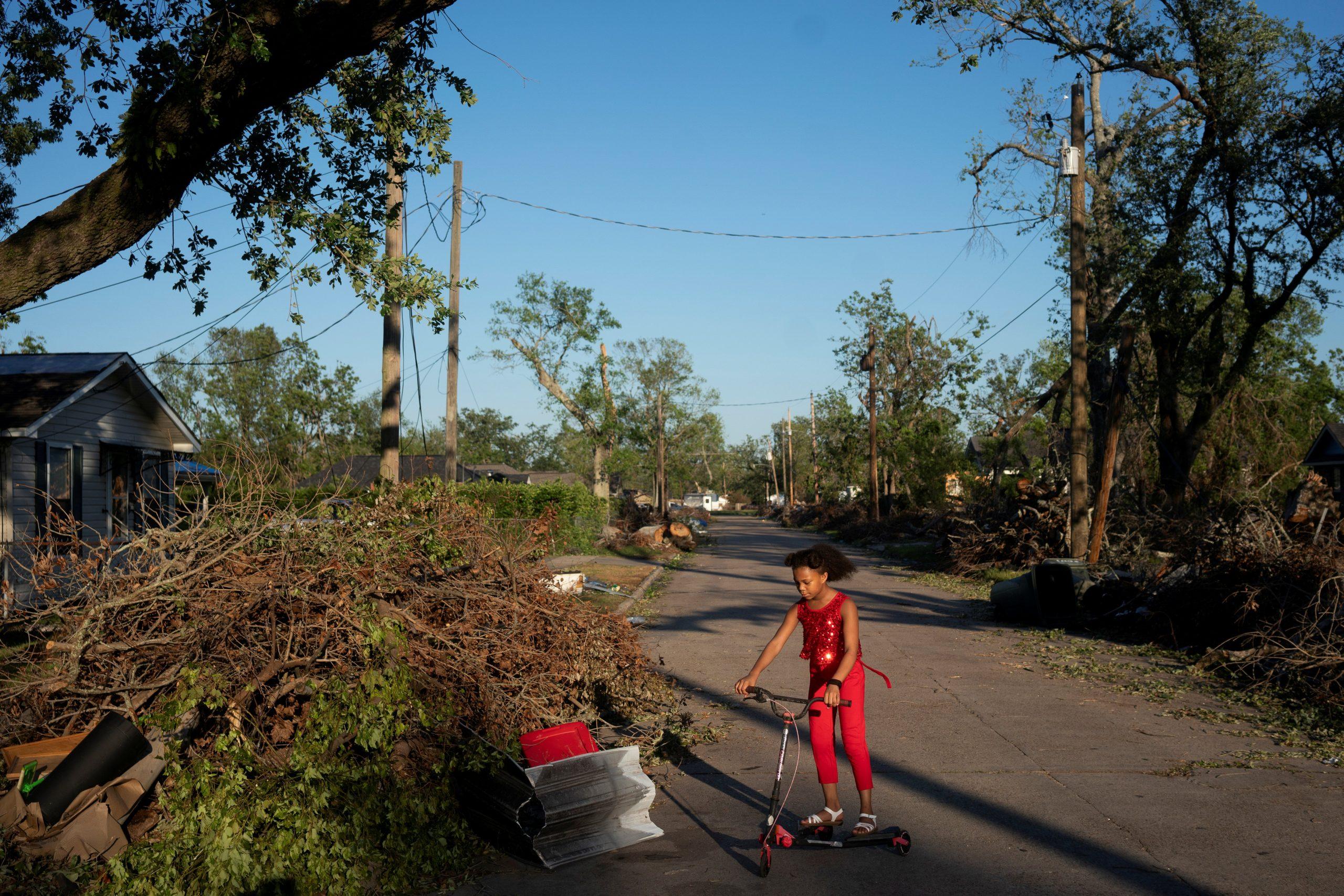 Hurricane Delta deals fresh blow to hard-hit Louisiana ...