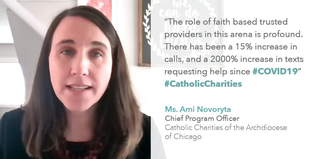 Program officer at Catholic Charities Archdiocese of Chicago testifies before congressional hearing on domestic violence prevention