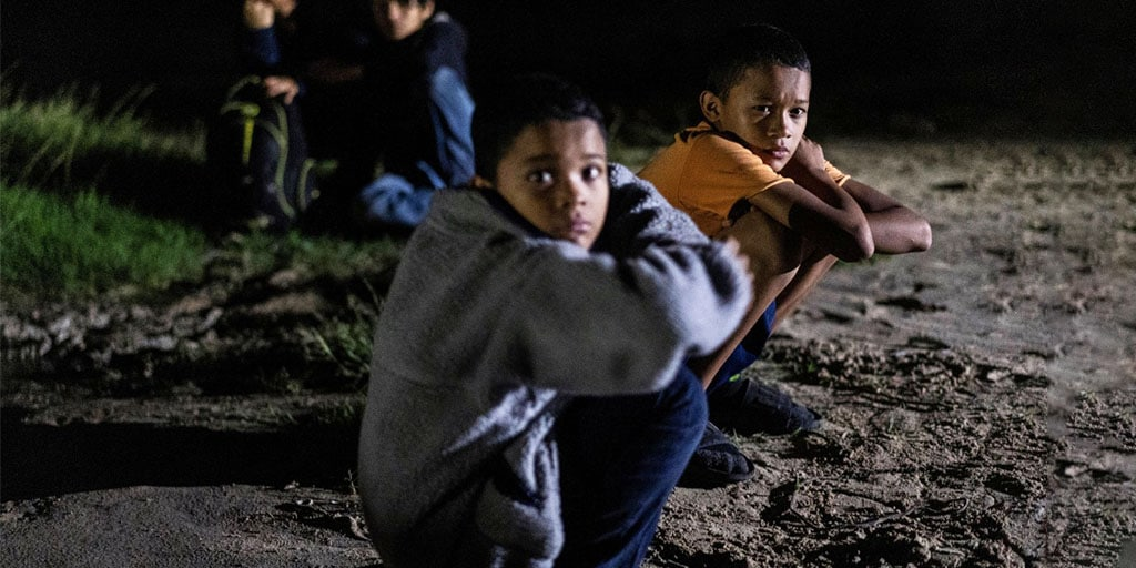 Numbers of unaccompanied minors at border setting record