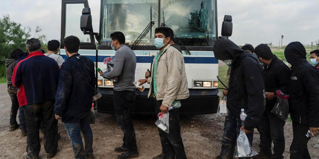 Justice Department sues Texas as it tries to halt transport of migrants